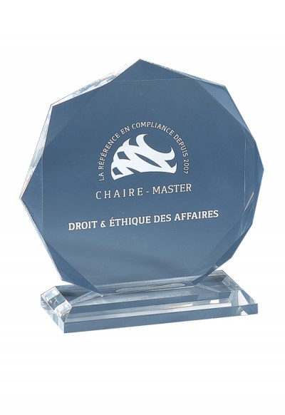 Trophée Acryglass Laserable 181-21